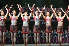 第10中国艺术节舞蹈竞争 库存图片