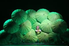 第10中国艺术节舞蹈竞争 免版税图库摄影