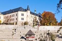 从第13分的薄菏 全国文化地标,中波希米亚州, Kutna Hora,捷克共和国,欧洲 免版税库存图片