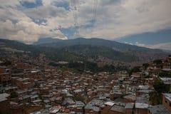 第13区在麦德林哥伦比亚 免版税库存照片