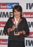 第27名每年国际妇女的媒介在新闻事业奖的基础勇气 免版税图库摄影
