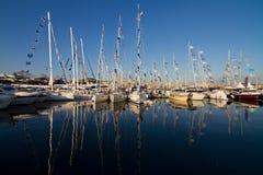 第32国际伊斯坦布尔Boatshow 库存图片