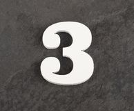 第3 -在灰色背景的空白的图 r 免版税图库摄影