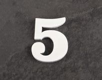 第5 -在灰色背景的空白的图 r 免版税库存照片