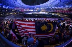 第29场东南亚运动会海比赛 图库摄影