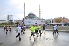 第39场伊斯坦布尔马拉松 免版税库存图片