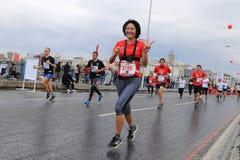 第39场伊斯坦布尔马拉松 库存图片