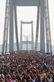 第37场沃达丰伊斯坦布尔马拉松 免版税库存照片