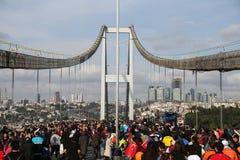 第37场沃达丰伊斯坦布尔马拉松 免版税图库摄影