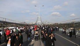 第37场沃达丰伊斯坦布尔马拉松 库存图片