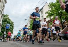 第24场Nordea里加马拉松 免版税图库摄影