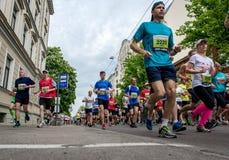 第24场Nordea里加马拉松 免版税库存照片