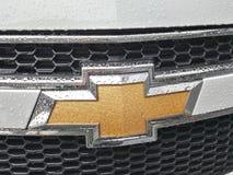 第14第16对西部的2011第25个成都薛佛列汽车瓷徽标马达路s 9月显示 库存照片