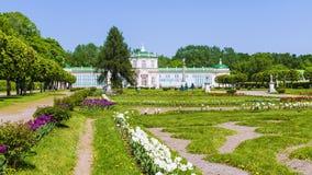第18是世纪计数庄园kuskovo纪念碑莫斯科住宅俄国sheremetyev夏天对使用的唯一 库存图片