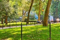 第5条大道的麦迪逊广场公园 纽约都市看法  美国 免版税图库摄影
