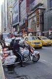 第42条街道在纽约 库存图片