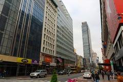 第34条街道,曼哈顿,纽约 图库摄影