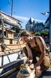 第36每年维多利亚经典小船节日 库存照片