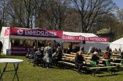 第1的人们 5月2018 CELEBRAION劳动节 免版税库存图片