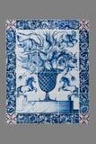 从第16的荷兰瓦片到18世纪 库存照片