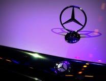 第14第16 2011第25苯成都瓷徽标默西迪丝开汽车路s 9月显示对西部 库存照片