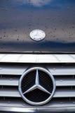 第14第16 2011第25苯成都瓷徽标默西迪丝开汽车路s 9月显示对西部 免版税图库摄影
