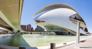 2011第8艺术城市10月照片科学西班牙被采取的巴伦西亚 图库摄影