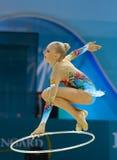 第32节奏体操世界冠军 免版税图库摄影