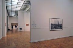 第7莫斯科国际比安奈尔当代艺术 免版税库存照片