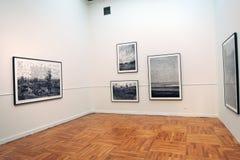 第7莫斯科国际比安奈尔当代艺术 库存照片