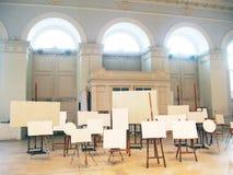 第5莫斯科当代艺术比安奈尔  免版税库存图片