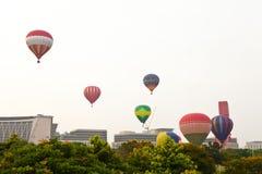 第5布城国际热空气气球节日2013年 免版税库存照片