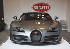 4 16第80 bugatti日内瓦全部国际汽车展示会体育运动瑞士veyron 4豪华跑车 免版税图库摄影
