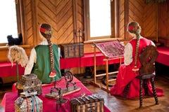 第17 centur的传统家庭内部俄国贵族政府 库存照片