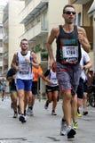 第28 Venicemarathon :非职业边 图库摄影