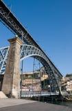 第1个桥梁dom lu s 免版税库存图片