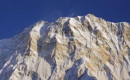 第10个annapurna高山一世界 库存照片