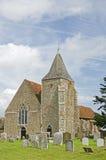 第12世纪教会 免版税库存照片