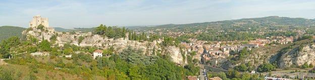第12座c城堡的方形塔, 库存图片