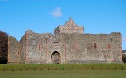 第13世纪苏格兰人城堡。 免版税库存图片