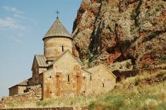 第13亚美尼亚世纪修道院noravank 图库摄影