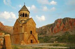 第13亚美尼亚世纪修道院noravank 库存照片
