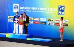 第14个2011个冠军fina上海世界 免版税库存照片
