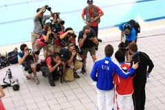 第14个2011个冠军fina上海世界 库存图片