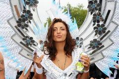 第14第19 2010威严的游行街道苏黎世 免版税库存照片