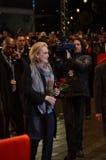 第14 2012年柏林2月meryl streep 库存图片
