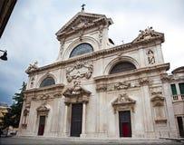 第16个大教堂世纪意大利savona 图库摄影