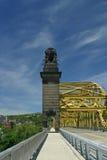 第16条桥梁匹兹堡街道 库存图片