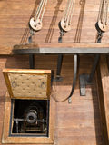 第17大炮世纪galleon 免版税库存照片