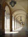 第18个拱廊世纪里斯本 免版税库存照片